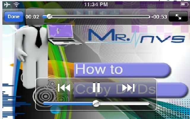 Mr. NVS: mellow but helpful mobile video tutorials